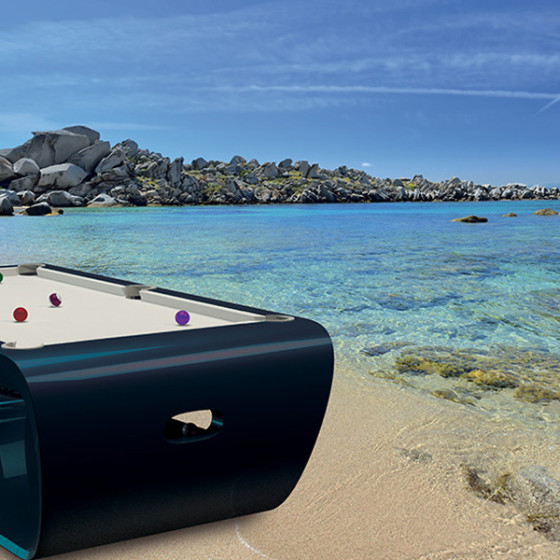 BILLARD BLACKLIGHT OUTDOOR - MEDITERRANEE