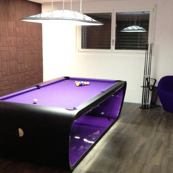 Billard BlackLight bi-ton noir-violet