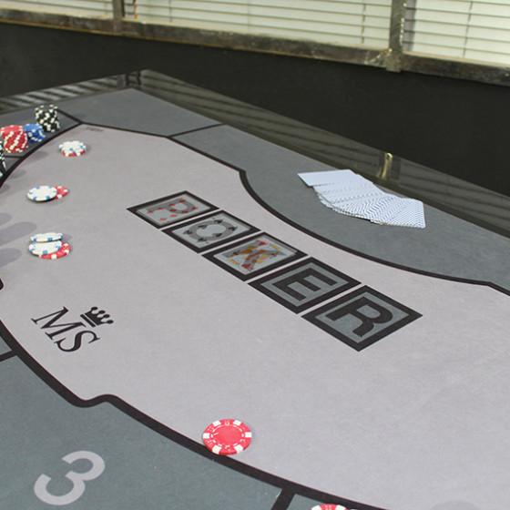 LA GAMME - table casino - version poker