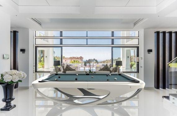 Luxus design billard Toulet