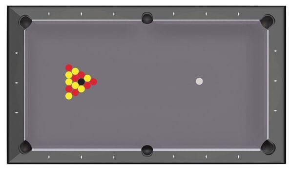 Spielformen englisches Poolbillard - billard toulet